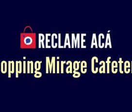 Shopping Mirage Cafeteria
