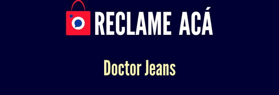 Doctor Jeans