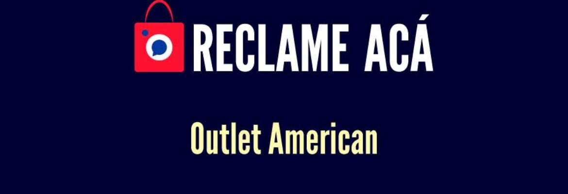 Outlet American